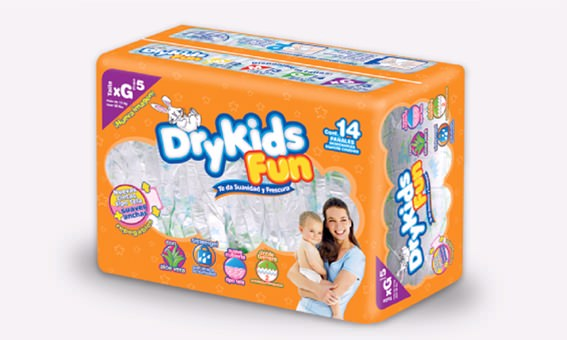 Empaque Drykids Fun