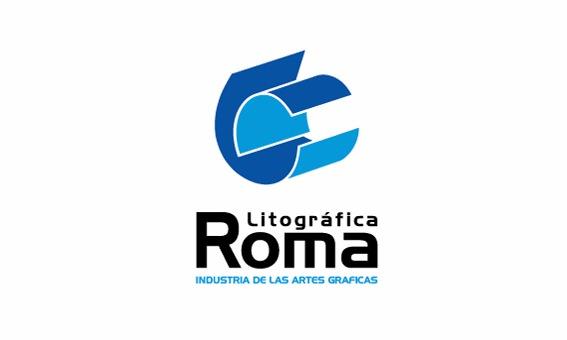 Logotipo Litográfica Roma