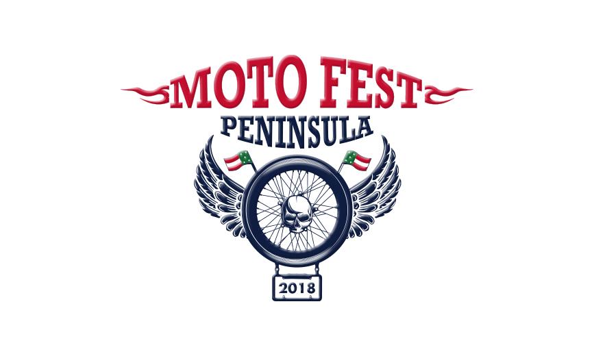Logotipo Moto Fest Península