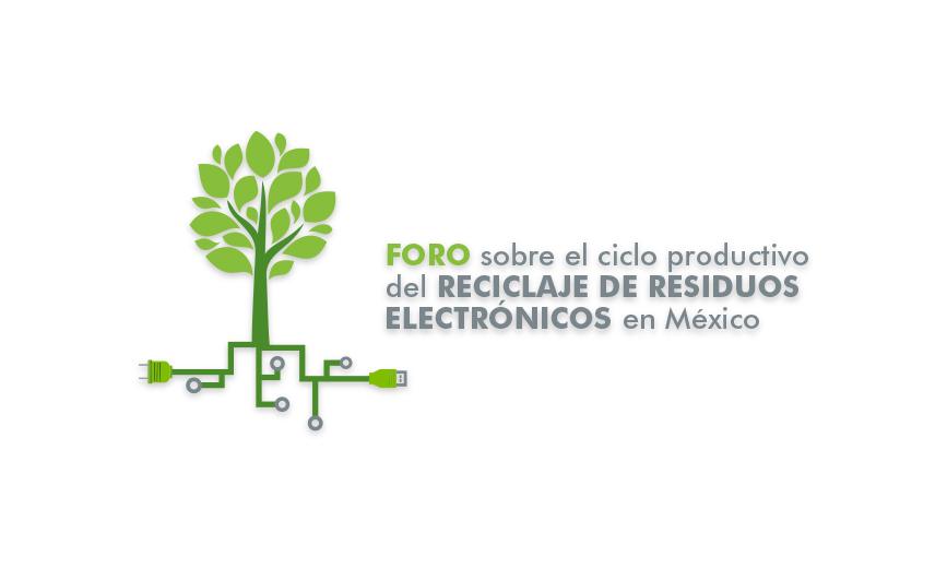 Logotipo Reciclaje de Residuos Electrónicos